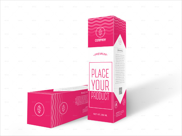 Health Care Box Mock-Up Template