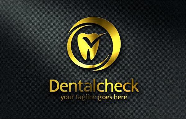 Hospital Dental Check Logo Templates
