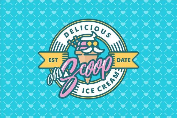 Ice Cream Shop Logos Free