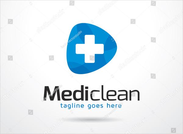 Fully Editable Medic Clean Logo Template