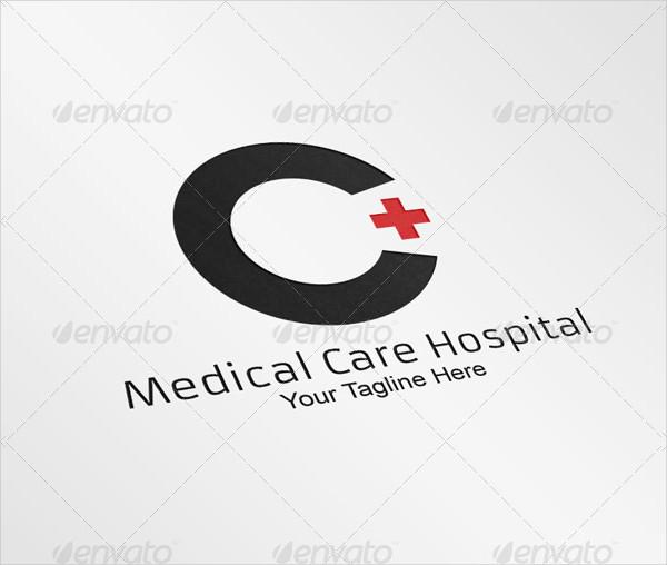Hospital Medical Care Logo Template