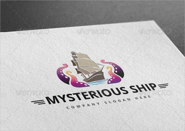 Mysterious Ship Logo