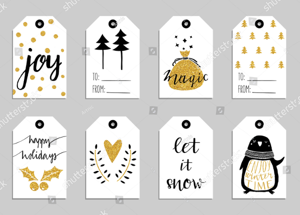 New Year Gift Tags