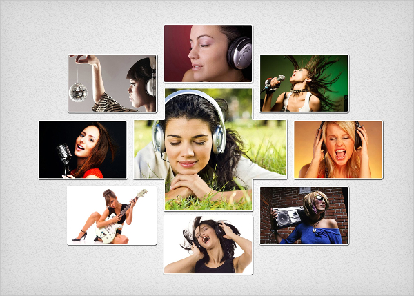 Online Photo Collage Template