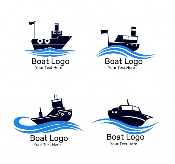 Pack Of Four Boat Logos