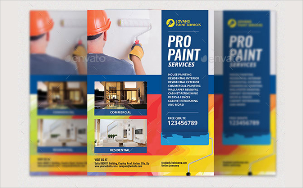 Paint Services Flyer Template