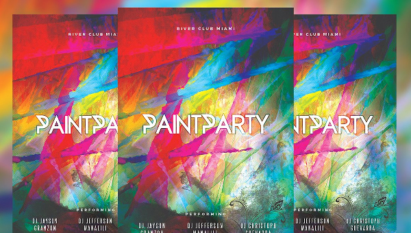 18 Painting Flyer Templates Free Premium Download