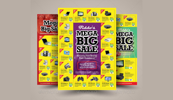 Perfect Big Sale Promotion Flyers Template