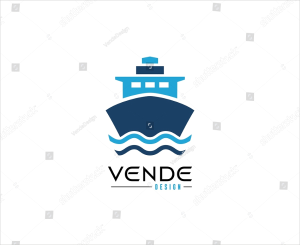 Perfect Ship Logo Template