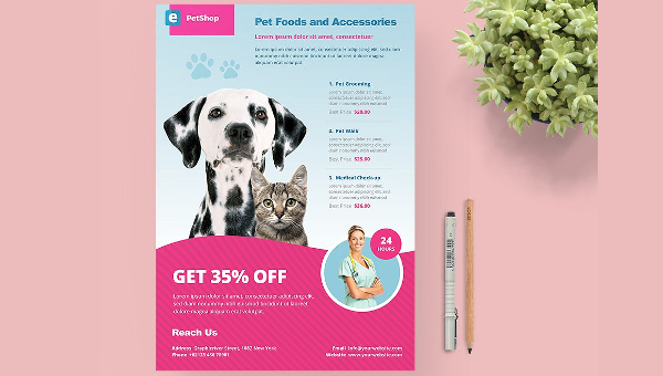 22 Pet Care Flyer Free Premium Psd Png Vector Eps Downloads