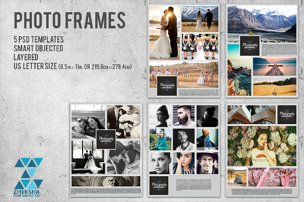 Photo Frames Collages Template