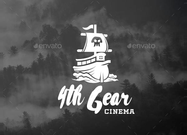 Pirate Ship Logos Template