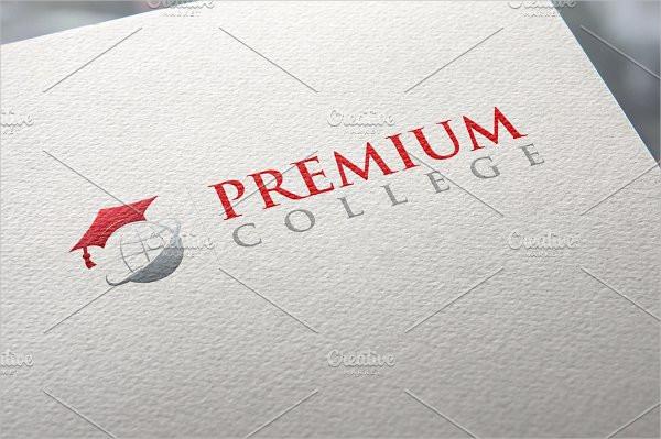 Premium College Board Logo Template