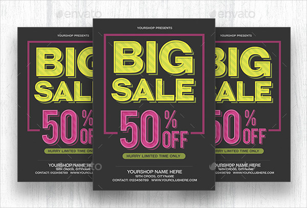 Christmas Big Sale Limited Flyer Template