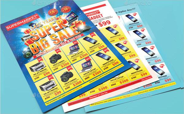 Print Ready Super Big Sale Flyers Template