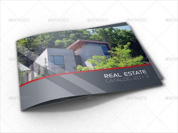 Professional Real Estate Catalog Template