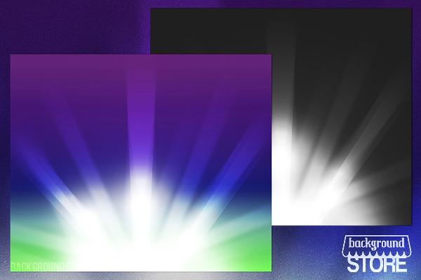 Rays Glow Backdrop