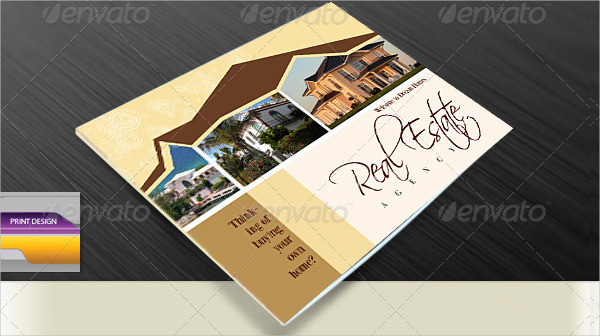 Real Estate Catalog Indesign Template