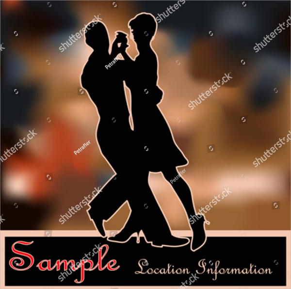 Salsa Ballroom Dance Flyer Template