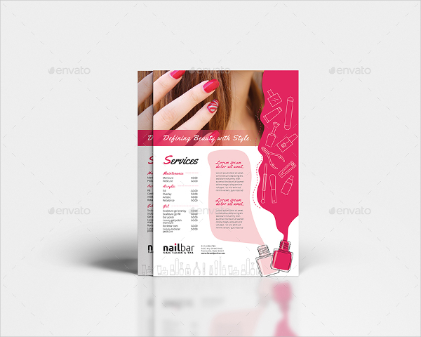 Salon Photoshop Poster Template
