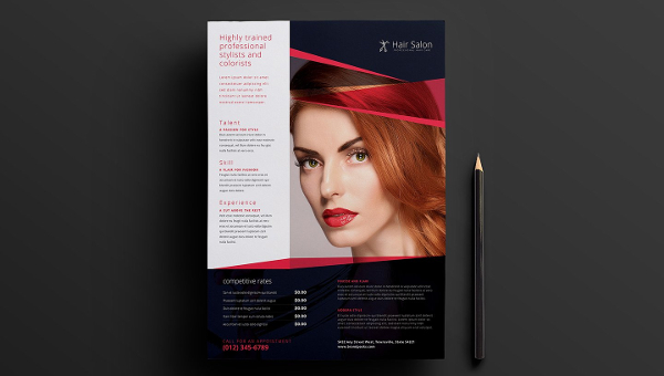 Salon Poster Templates