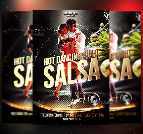 Printable Salsa Flyer Template