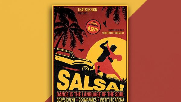22+ Salsa Flyer Templates - Free & Premium, PSD, Illustrator