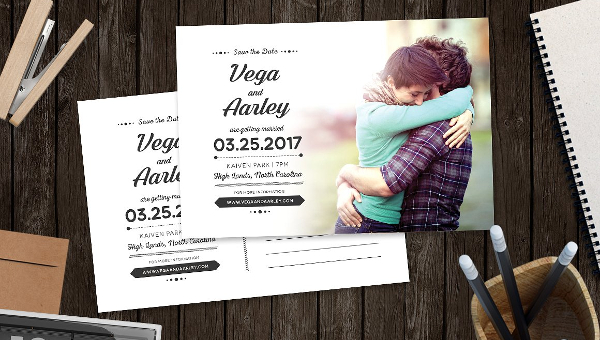 save the date postcard template - Free Save The Date Postcard Templates