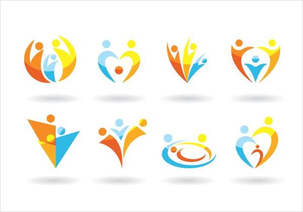Set Of Family Logos Free Download