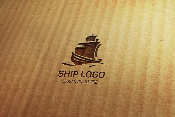 Ship Eleganta Logo Template