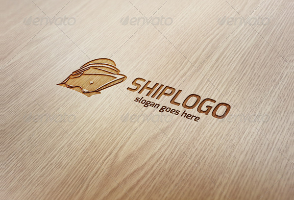 Ship Wave Logo Template