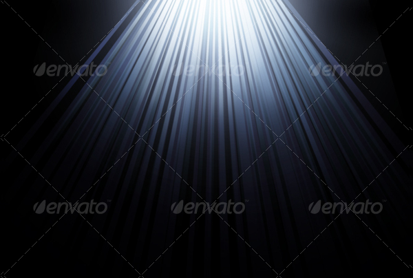 Simple Rays Background