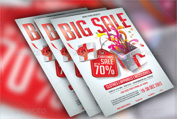 Ready To Print Big Sale Store Flyer Template
