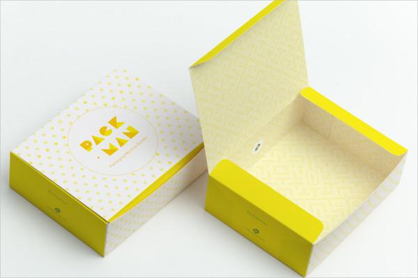 Sweet Box Mock-Up Template