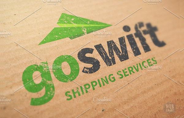 Swift Shipping Logo Template