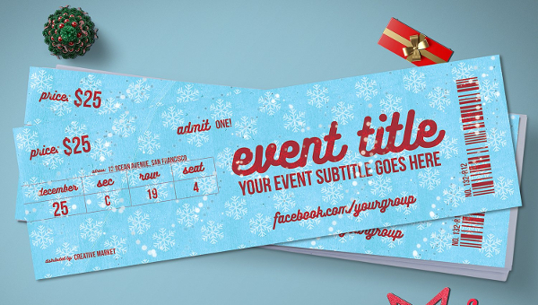 16 ticket mockup templates free psd vector ai eps downloads