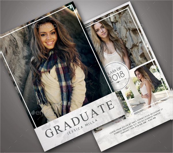 23  graduation announcement card templates