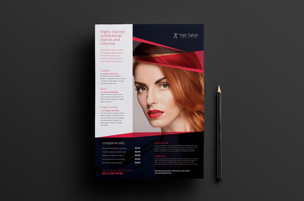 Ultimate Poster Template For Hair Salon