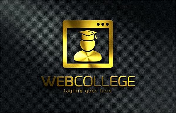 Web Education Logo Design Template