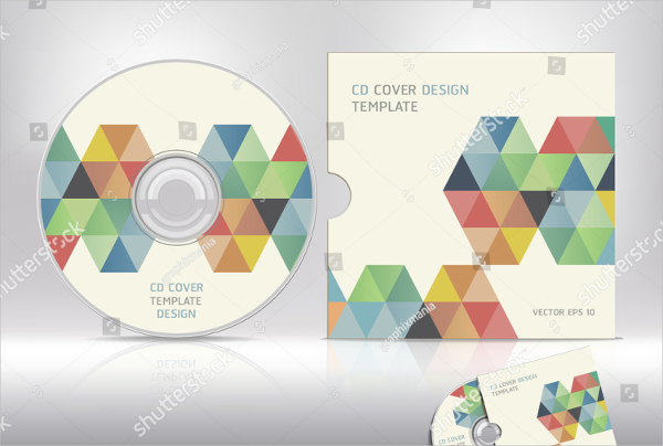 Abstract CD Cover Template