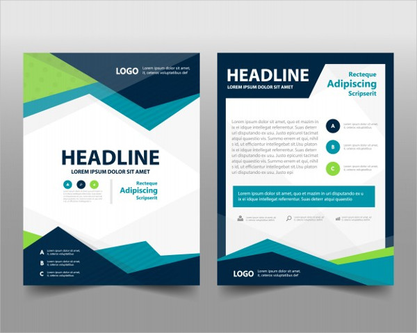 Abstract Corporate Flyer Templates