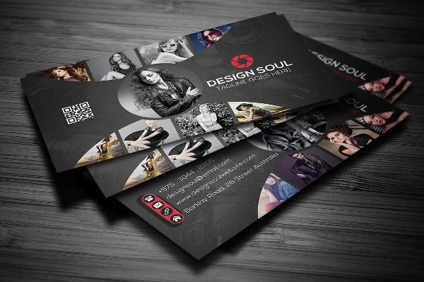 Abstract Photography Business Cards