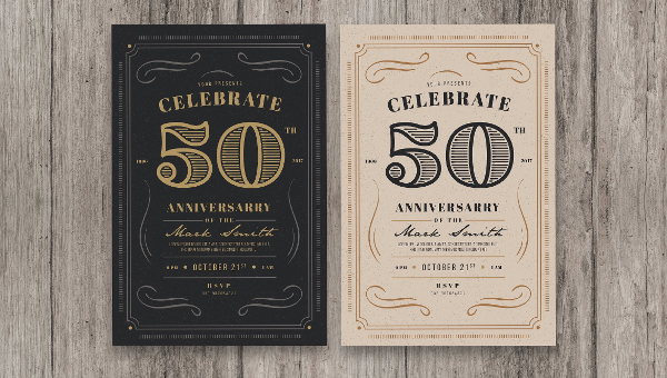 21+ Anniversary Invitation Card Templates - Free & Premium Download