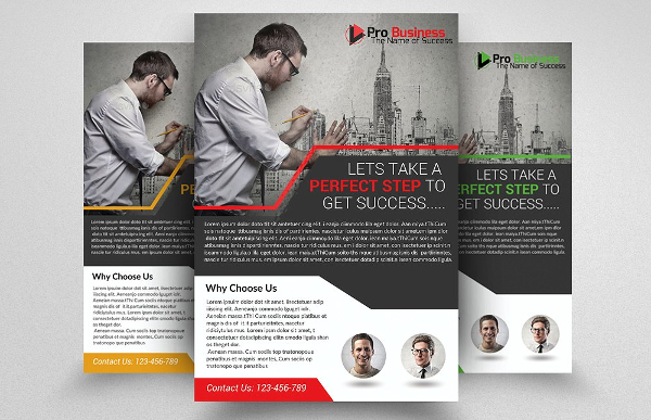 Architectural Firm Business Flyer Template