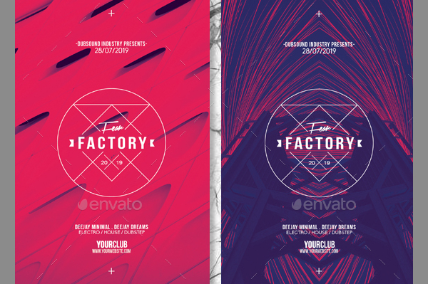 Architectural Flyer PSD Template