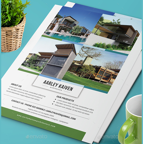 Architecture Advertisement Flyer Template