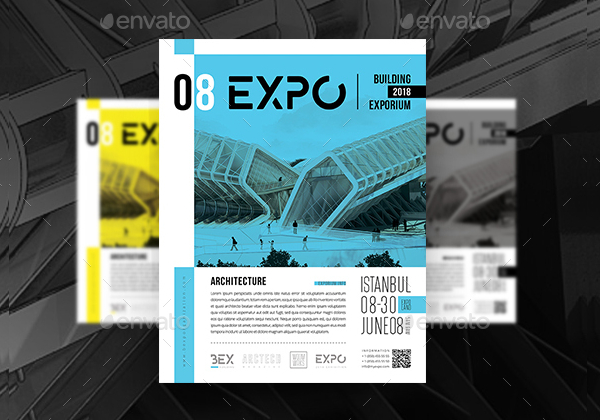 Architecture Exhibition Poster Flyer