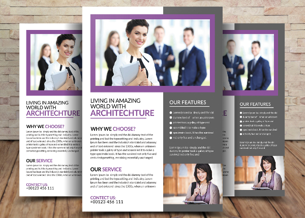 Attractive Architecture Flyer Template