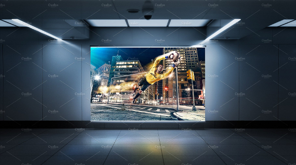 Attractive Billboard Mockup