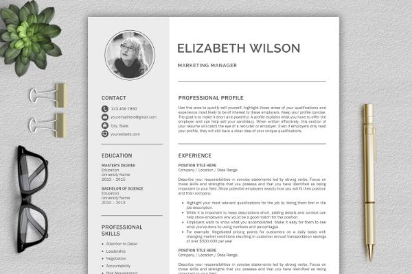 Attractive Creative Resume Design